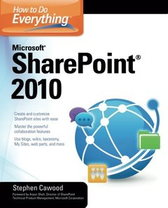 How to Do Everything Microsoft SharePoint 2010 (Paperback)-cover