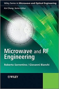 Microwave and RF Engineering (Hardcover)-cover
