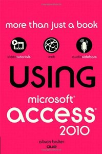 Using Microsoft Access 2010 (Paperback)-cover
