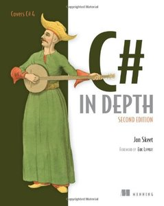 C# in Depth, 2/e (Paperback)-cover