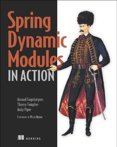 Spring Dynamic Modules in Action (Paperback)-cover