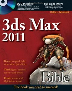 3ds Max 2011 Bible (Paperback)-cover