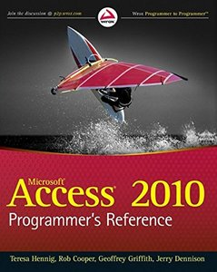 Access 2010 Programmer's Reference (Paperback)-cover