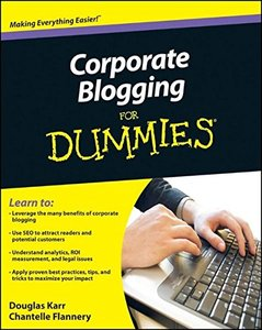 Corporate Blogging For Dummies (Paperback)-cover