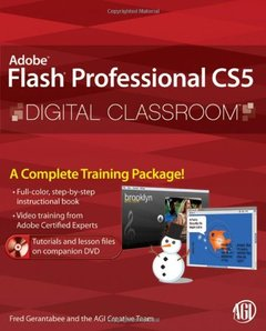 Flash Professional CS5 Digital Classroom (Paperback)-cover