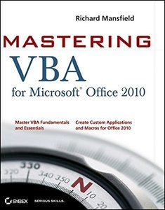 Mastering VBA for Office 2010 (Paperback)-cover