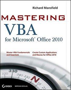 Mastering VBA for Office 2010 (Paperback)