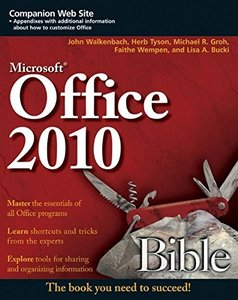 Office 2010 Bible (Paperback)-cover
