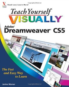 Teach Yourself VISUALLY Dreamweaver CS5 (Paperback)-cover