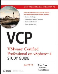 VCP VMware Certified Professional on vSphere 4 Study Guide: Exam VCP-410 (Paperback)-cover
