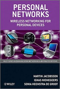 Personal Networks: Wireless Networking for Personal Devices (Hardcover)