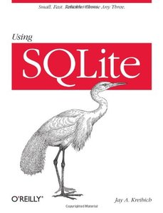 Using SQLite (Paperback)-cover