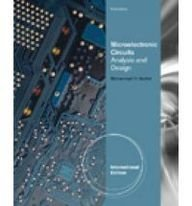 Microelectronic Circuits: Analysis and Design, 2/e (IE-Paperback)-cover