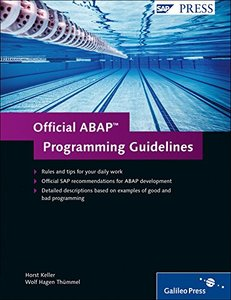 Official ABAP Programming Guidelines (Hardcover)-cover