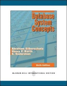 Database System Concepts, 6/e (IE-Paperback)-cover
