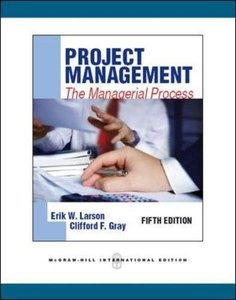 Project Management: The Managerial Process, 5/e (IE-Paperback)-cover