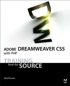 Adobe Dreamweaver CS5 with PHP: Training from the Source (Paperback)-cover