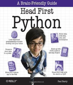 Head First Python (Paperback)-cover