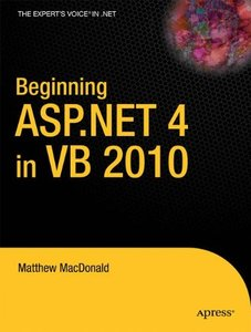 Beginning ASP.NET 4 in VB 2010 [Paperback]-cover