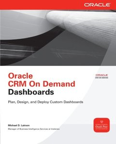 Oracle CRM On Demand Dashboards (Paperback)-cover