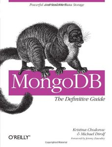 MongoDB: The Definitive Guide (Paperback)-cover