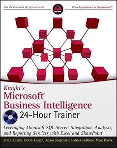 Knight's Microsoft Business Intelligence 24-Hour Trainer (Paperback)-cover
