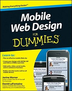 Mobile Web Design For Dummies (Paperback)-cover