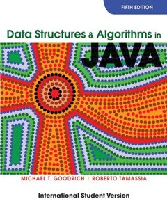 Data Structures and Algorithms in Java, 5/e (Paperback)-cover