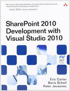 SharePoint 2010 Development with Visual Studio 2010 (Paperback)-cover