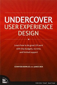 Undercover User Experience Design (Paperback)-cover