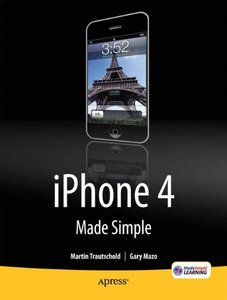 iPhone 4 Made Simple (Paperback)-cover