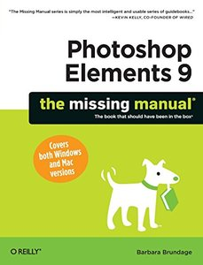 Photoshop Elements 9: The Missing Manual (Paperback)-cover
