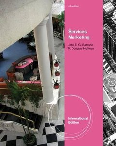 Services Marketing , 4/e (IE-Paperback)-cover
