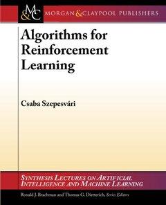 Algorithms for Reinforcement Learning (Paperback)-cover