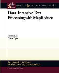 Data-Intensive Text Processing with MapReduce (Paperback)-cover