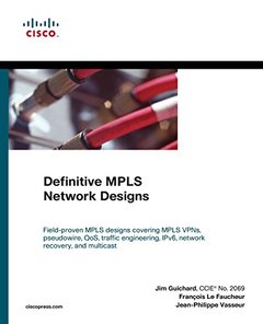 Definitive MPLS Network Designs (Paperback)-cover