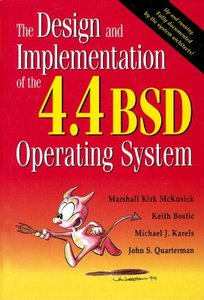 The Design and Implementation of the 4.4 BSD Operating System (Paperback)-cover