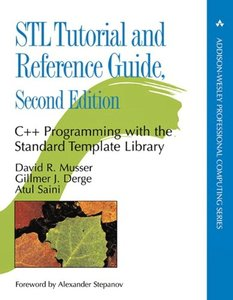 STL Tutorial and Reference Guide: C++ Programming with the Standard Template Library, 2/e(Paperback)-cover