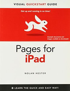 Pages for iPad: Visual QuickStart Guide (Paperback)-cover
