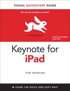 Keynote for iPad: Visual QuickStart Guide-cover