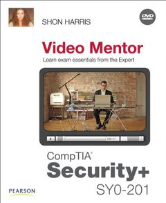 CompTIA Security+ SY0-201 Video Mentor (Paperback)-cover