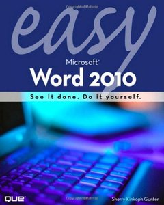 Easy Microsoft Word 2010-cover