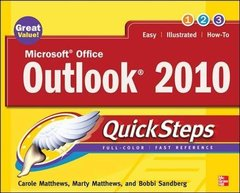 Microsoft Office Outlook 2010 QuickSteps-cover