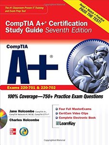 CompTIA A+ Certification Study Guide, Seventh Edition (Exam 220-701 & 220-702) (Certification Press)-cover