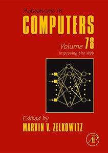 Advances in Computers, Volume 78: Improving the Web-cover