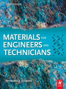 Materials for Engineers and Technicians, Fifth Edition-cover