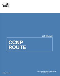 CCNP ROUTE Lab Manual (Paperback)-cover