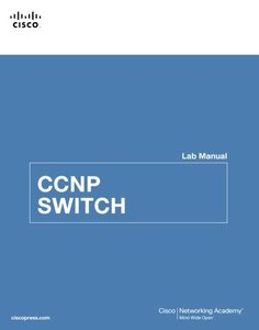 CCNP SWITCH Lab Manual (Paperback)-cover