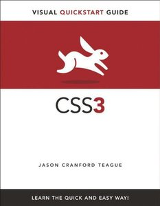 CSS3: Visual QuickStart Guide, 5/e (Paperback)-cover