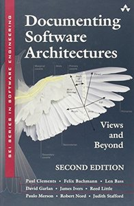 Documenting Software Architectures: Views and Beyond, 2/e (Hardcover)-cover